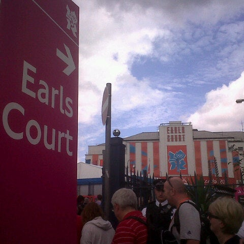 Photo taken at Earls Court Exhibition Centre by Marcelo B. on 8/8/2012