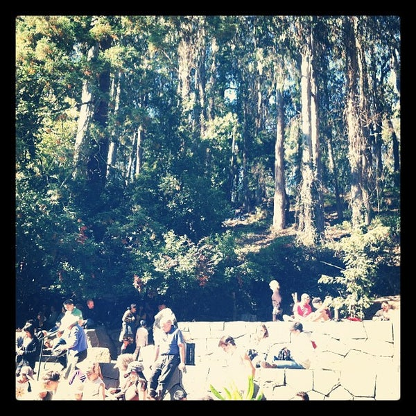 Photo taken at Sigmund Stern Grove by Dan K. on 8/26/2012