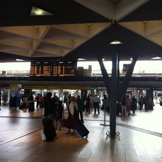 Photo taken at Napoli Centrale Railway Station (INP) by Дмитрий К. on 6/11/2012