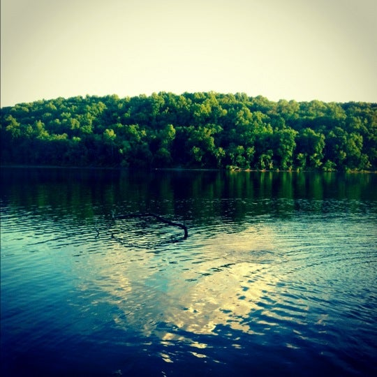 Photo taken at Salt Fork Lodge & Conference Center by Michael T. on 6/8/2012