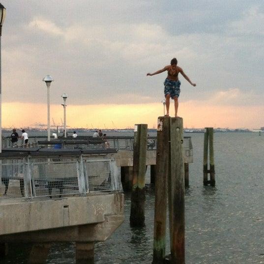 Photo taken at Louis Valentino, Jr. Park & Pier by John H. on 7/25/2012