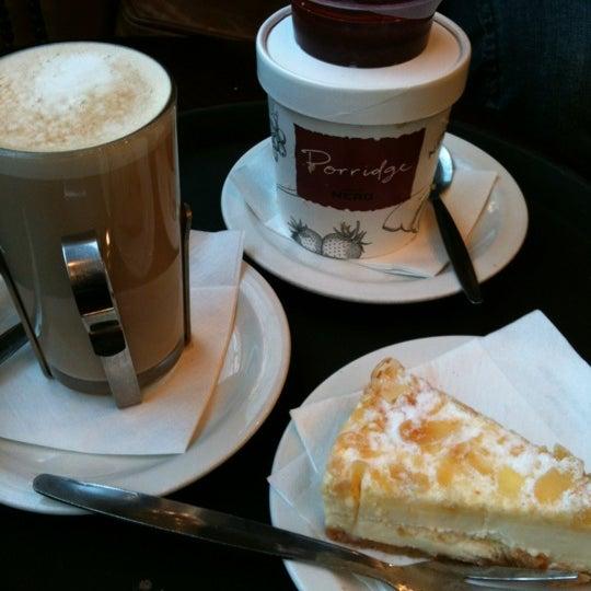 Photo taken at Caffè Nero by Sandor S. on 3/11/2012