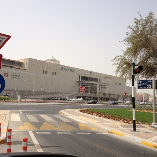 Photo taken at Mushrif Mall by Fatih T. on 5/25/2012