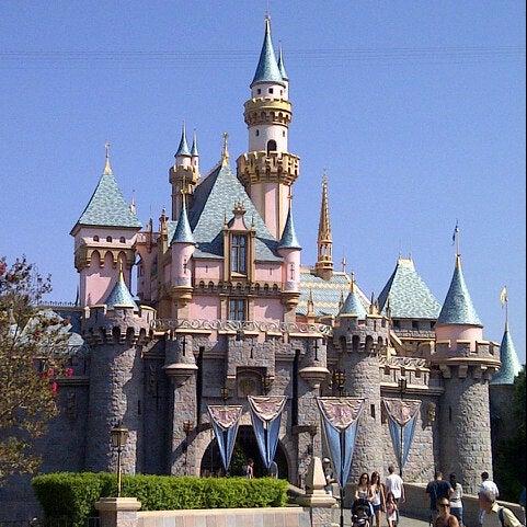Sleeping Beauty Castle - The Anaheim Resort - Anaheim, CA
