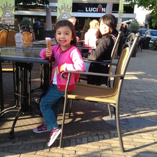Photo taken at Luciano's ijssalon by Joel S. on 6/1/2012