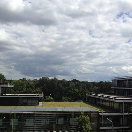 Photo taken at Hilton Munich Park by Michael P. on 7/16/2012