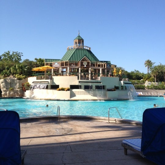 Photo taken at Marriott World Center Pool by Donna L. on 7/8/2012