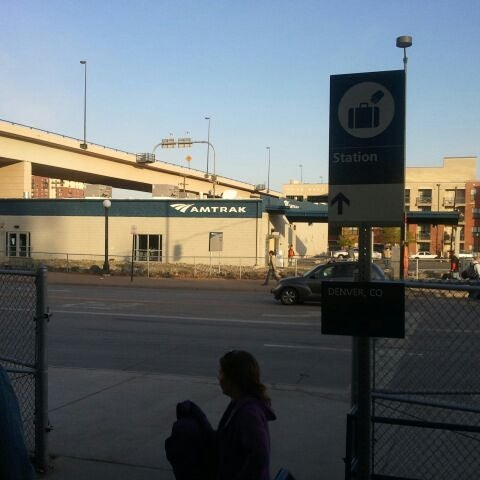 Photo taken at Denver Amtrak (DEN) by Omaha S. on 4/10/2012