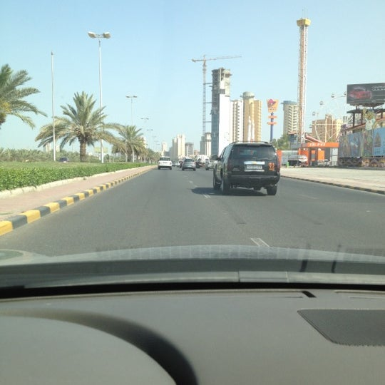 Photo taken at Gulf street by Saloo7ka on 4/8/2012