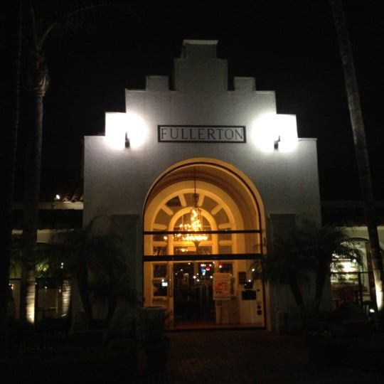 The depot in Fullerton was built in , and a competition with the Santa Fe Railroad commenced. In , the Santa Fe Railroad demolished its old wood-framed structure and built its impressive Spanish Colonial Revival depot.