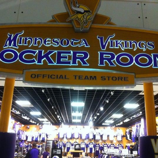 Vikings Locker Room Mall Of America