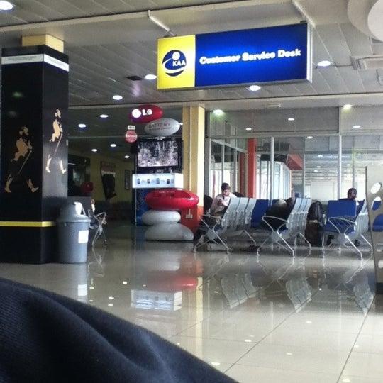Photo taken at Jomo Kenyatta International Airport (NBO) by Muffadal K. on 7/9/2012
