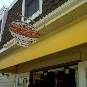 Photo taken at Hotdog Tommy's by Olessya K. on 6/9/2012
