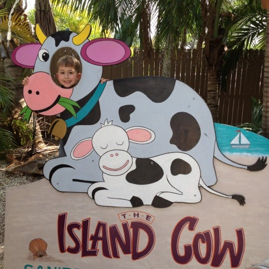 Photo taken at The Island Cow by Susan P. on 4/3/2012