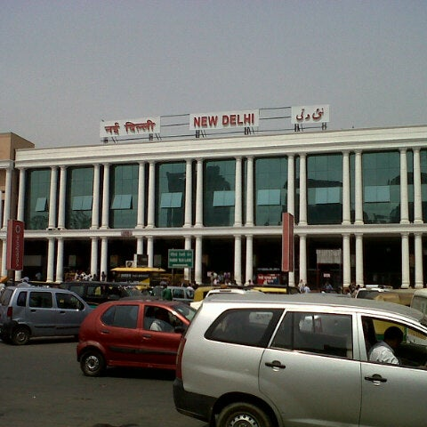 Photo taken at New Delhi Railway Station (NDLS) by Dhiraj P. on 7/5/2012