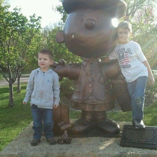 Photo taken at Landmark Plaza by Hollie C. on 4/5/2012