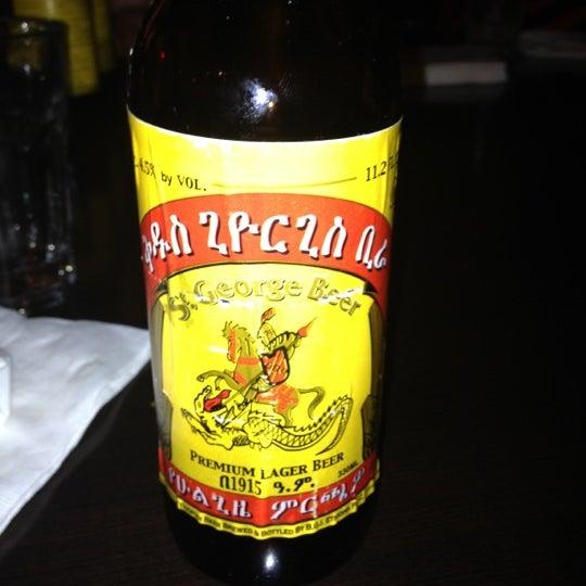 Photo taken at New Eritrea Restaurant & Bar by John R. on 8/15/2012