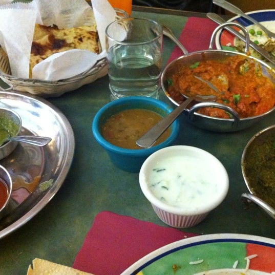 Photo taken at Jackson Diner by Dara C. on 7/21/2012