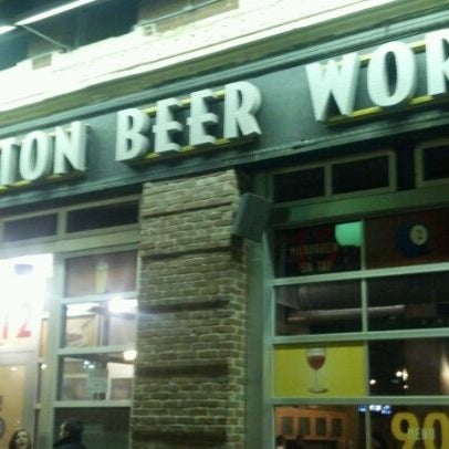 Photo taken at Boston Beer Works by Al S. on 2/2/2012