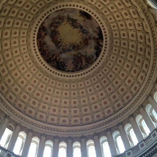 Photo taken at Rotunda of the U.S. Capitol by Pamela G. on 5/5/2012