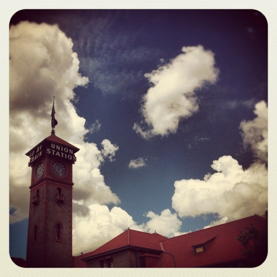 Photo taken at Union Station Amtrak (PDX) by Kyle L. on 6/24/2012