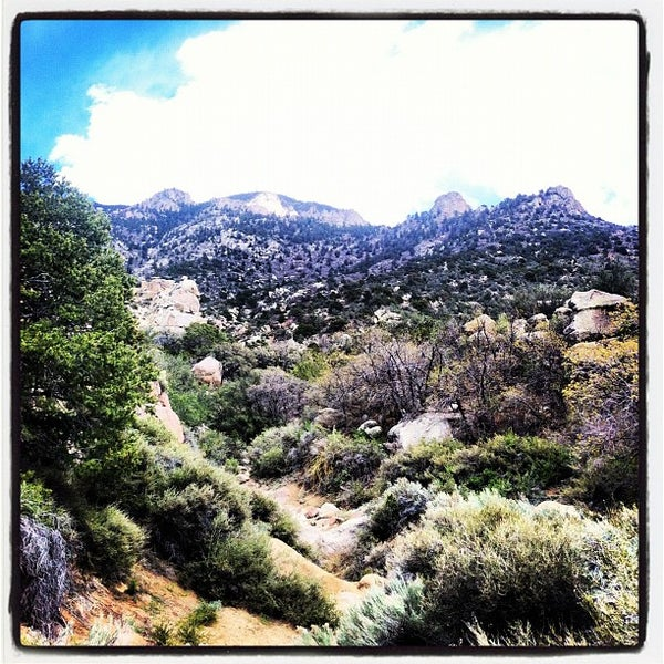 Photo taken at La Luz Trailhead by Caitlin Ann D. on 4/16/2012