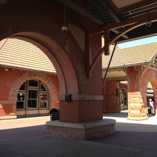 Photo taken at Kalamazoo Transportation Center - Amtrak (KAL) by Erick M. on 5/19/2012