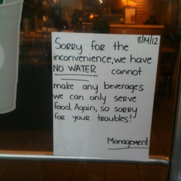 Photo taken at Starbucks by carlos v. on 8/14/2012