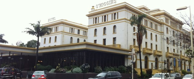 Photo taken at Hotel O'Higgins by Francisco S. on 5/27/2012