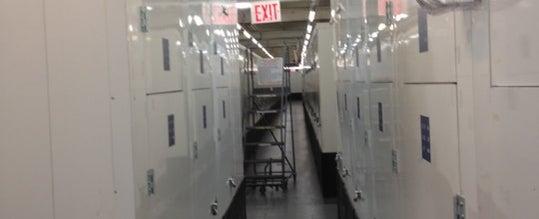 Photo taken at Manhattan Mini Storage by John C. on 11/17/2011