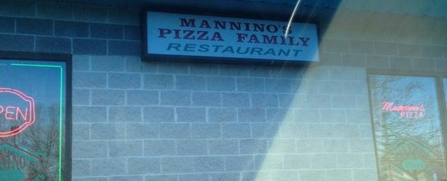 Photo taken at Mannino's Family Restaurant by Ismar N. on 3/4/2013