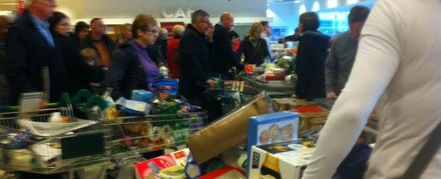 Photo taken at Waitrose by Peter B. on 12/23/2012
