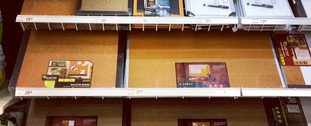Photo taken at Office Depot by Erika W. on 2/16/2014