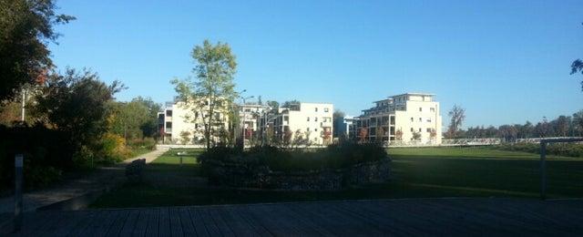 Photo taken at Landesgartenschau Rosenheim by Heinrich G. on 10/6/2012