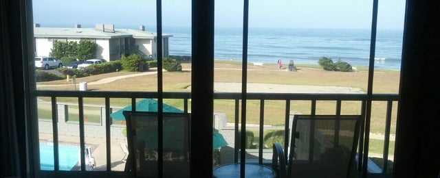 Photo taken at Best Western Plus Cavalier Oceanfront Resort by Marty O. on 5/24/2013