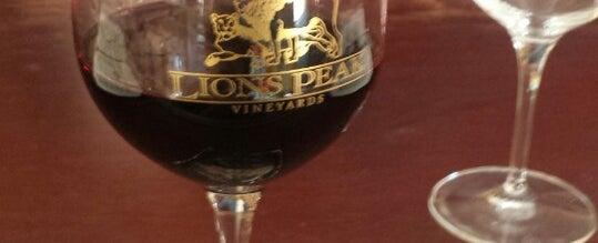 Photo taken at Lion's Peak Tasting Room by James F. on 6/28/2014