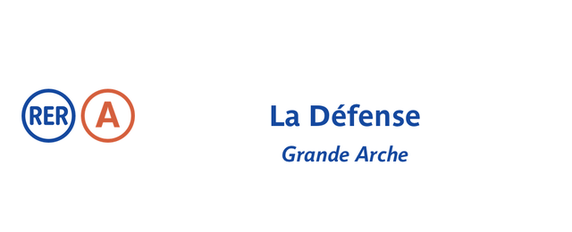 Photo taken at RER La Défense – Grande Arche [A] by RATP on 7/12/2013