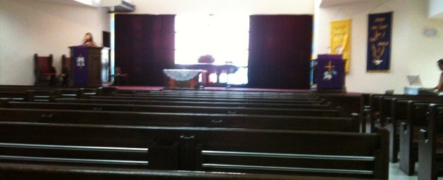 Photo taken at Tamil Methodist Church by Dio S. on 12/23/2012