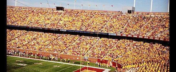 Photo taken at TCF Bank Stadium by John L. on 9/15/2012