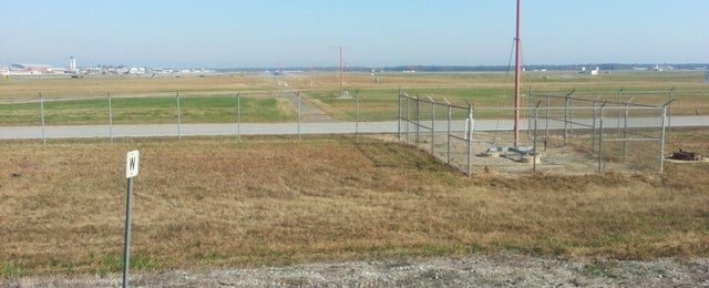 Photo taken at RIC Runway 07 Aproach by Malcolm W. on 10/25/2012
