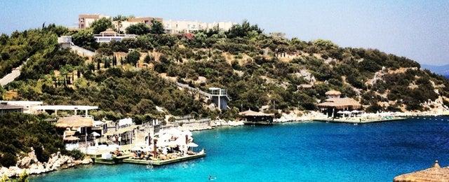 Photo taken at Hilton Bodrum Türkbükü Resort & Spa by Bayse A. on 7/13/2013