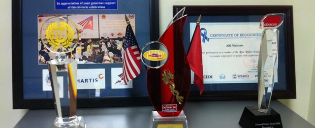 Photo taken at Chartis Vietnam Insurance by 5 B. on 8/30/2011