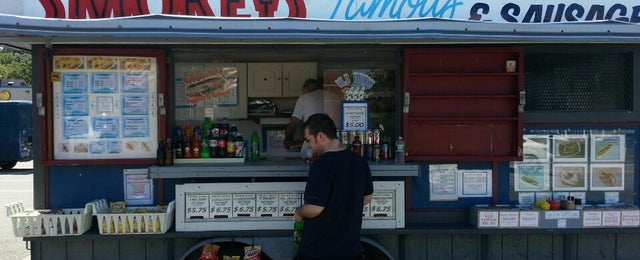 Photo taken at Smokeys Famous Hot Dogs by Brian C. on 8/14/2013