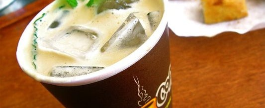 Photo taken at Philz Coffee by OrderAhead on 3/5/2013