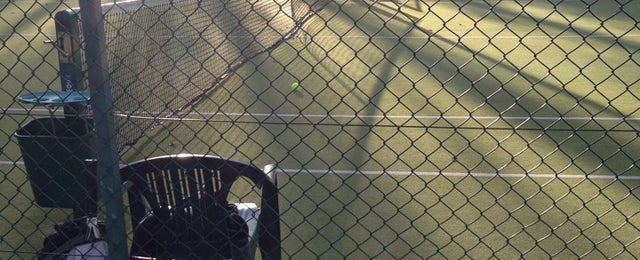 Photo taken at Beauchief Tennis Club by Mr H on 11/16/2013
