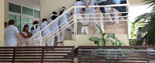 Photo taken at Unidad Universitaria de Rehabilitacion by Karen Sthepania M. on 9/2/2013
