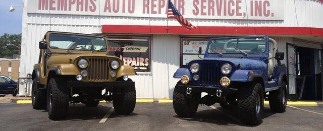 Photo taken at Memphis Auto Repair Service by Gordon S. on 8/5/2014