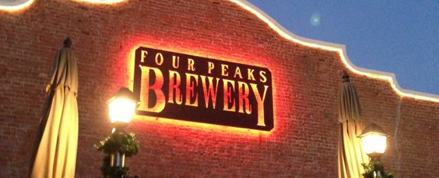 Photo taken at Four Peaks Brewing Company by Lee E. on 12/28/2012
