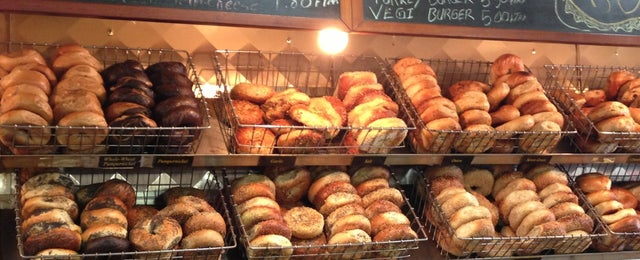 Photo taken at Bergen Bagels by Charles B. on 3/3/2013