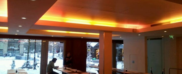 Photo taken at Wagamama by Alexander B. on 2/3/2012
